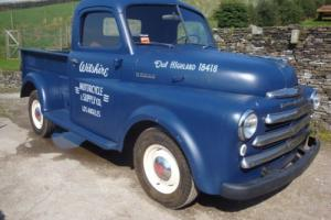 dodge pickup 1/2 ton 1948