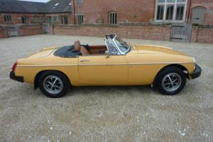 MGB ROADSTER 1976 - REPAINTED NOVEMBER 2015 WITH PHOTO RECORDS