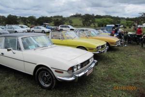 Triumph Stag CAR in SA Photo