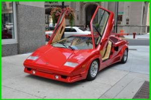 1989 Lamborghini Countach YOU CAN OWN FOR $3236 PER MONTH Photo