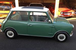 1990 ROVER MINI 1000 Mk1 look alike green with whiet roof