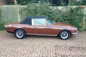 Triumph Stag Stag V8 Auto been standing a while and requires re-commissioning