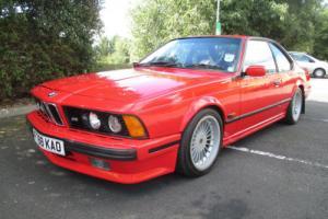 BMW 635 CSi HIGHLINE MOTORSPORT EDITION, 1989, ONE OF 180 BUILT, MISANO RED
