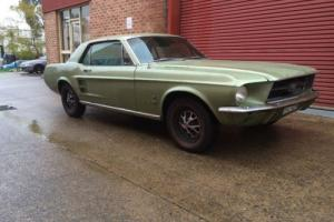 1967 Mustang Coupe in NSW