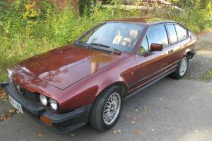 Alfa Romeo GTV Alfetta 2.0l Twin-cam