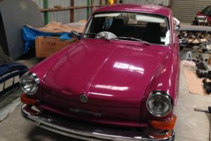 VW type 3 Notchback, The only know example like this. Photo