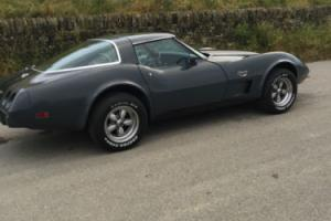 1978 CHEVROLET GMC CORVETTE STINGRAY 25TH ANNIVERSARY EDITION GREY