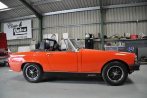 MG MIDGET, 1978, ORANGE, GREAT CONDITION, WELL KEPT WITH LOTS OF HISTORY,