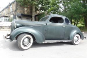 1937 Plymouth 2 door Coupe Hotrod Ratrod Custom Photo
