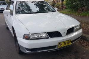 Mitsubishi Magna Solara 2000 4D Sedan Automatic 3 5L Multi Point F INJ