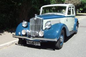 Wolseley 14/56 Series II Saloon (1936)