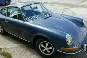 Porsche 912 1969 high option car
