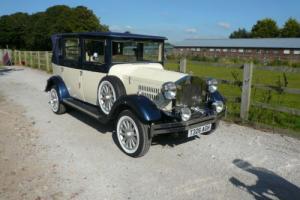 Imperial Viscount Wedding Car.