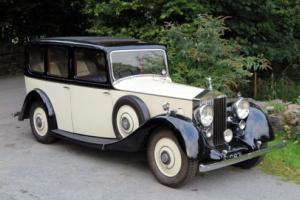 1936 Rolls-Royce 25/30 Hooper Limousine GRM60