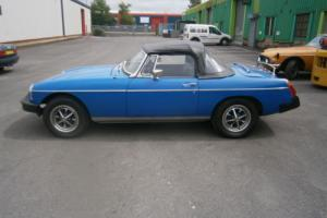 Classic 1977 MGB Roaster running easy project with long MOT