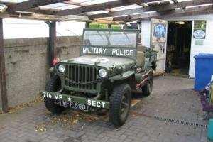 Willys MB Jeep 1942 WW2