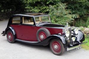 1938 Rolls-Royce 25/30 Park Ward Saloon GAR48