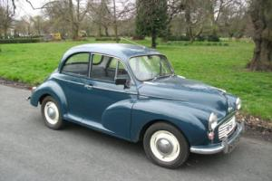 MORRIS MINOR 1000 BLUE Photo
