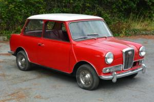 1969 WOLSELEY HORNET 998cc PART REFURBISHED EASY WINTER PROJECT TAX EXEMPT