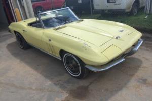 1966 Chevrolet Corvette Barn Find