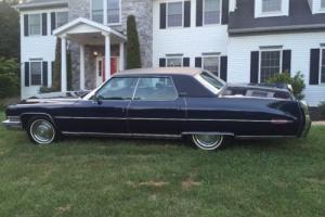 1973 Cadillac DeVille sedan