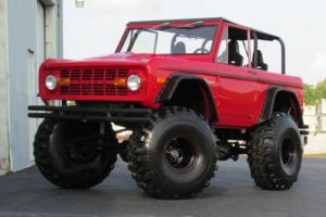 1977 Ford Bronco FORD BRONCO MONSTER TRUCK 351W 4X4 OFF ROAD 4WD