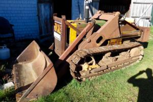1958 John Deere 420c. Crawler with Franklin Loader & Manuals Photo