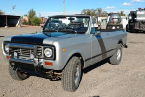 1976 International Harvester Scout Traveller