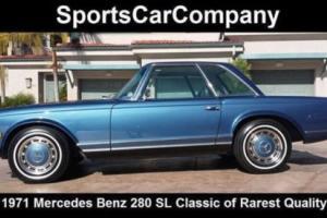 1971 Mercedes-Benz SL-Class 280 SL CONVERTIBLE