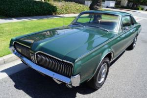 1967 Mercury Cougar XR7 COUPE ORIG CALIF OWNER 'BLACK PLATE' CAR Photo