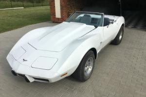 Very rare 1975 75 Chevrolet Corvette convertible 4-speed project Photo