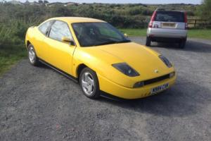 1996 FIAT COUPE 16V YELLOW