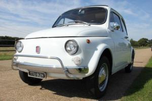 1969 CLASSIC FIAT 500 L LUSSO WHITE ***NO RESERVE AUCTION*** Photo