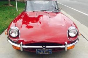 1970 Jaguar E-Type 2+2 AUTO LHD S2