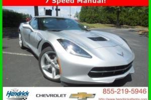 2014 Chevrolet Corvette 2LT
