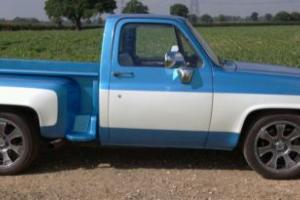 Chevrolet c10 muscle truck v8 stepside 84 american custom classic
