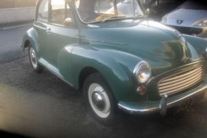 morris 1000 convertible Photo