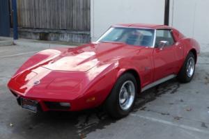 1974 Chevrolet Corvette T TOP 350V8 Auto P Steering P D Brakes E Window A Cond