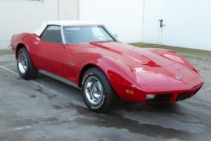 1973 Chevrolet Corvette Convertible 350V8 Automatic P Steering