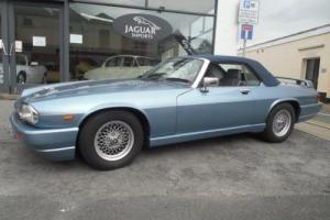 1989 JAGUAR XJ-S CONVERTIBLE AUTO BLUE