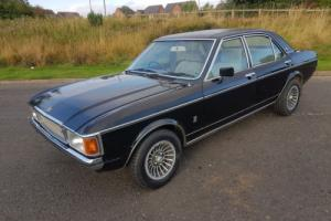 1976 FORD GRANADA MK1 3.0 GHIA - BLACK WITH BLACK VINYL ROOF Photo