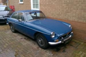 MGB GT BLUE 1968 Classic sports car 48 years old -Tax Exempt