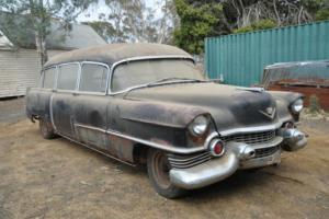 1954 Cadillac Hearse Hotrod RAT ROD Drag CAR in VIC