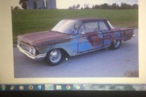 1961 Chevrolet Biscayne Full Ratrod Patina 2 Door