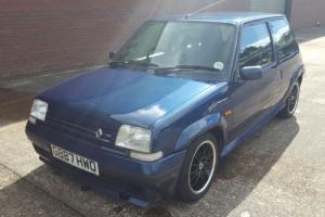 RENAULT 5 GT TURBO RAIDER BLUE 1.4 MOT
