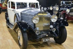 1933 Rolls Royce 20/25 Park Ward Continental bodied Sports Saloon