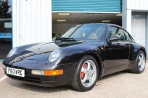 1996 PORSCHE 911 993 C2 TARGA BLACK MANUAL