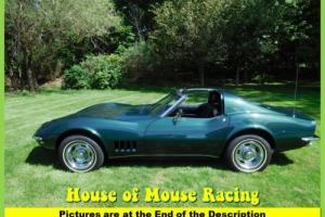 1968 Chevrolet Corvette 41k Miles 327 4spd Numbers Matching Turnkey