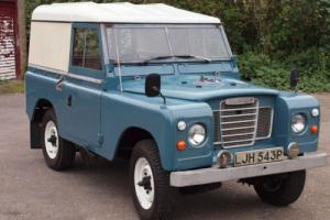 Land Rover Series 3. Long MOT and Tax Free