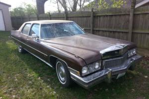 1973 Cadillac Fleetwood 4 door